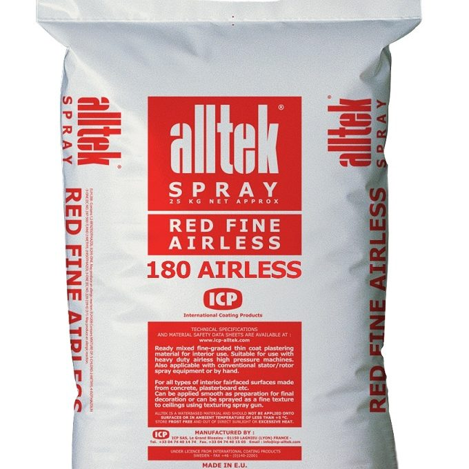 Alltek Red Fine 180 Airless